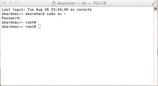 Mac Os X Reset Mysql Root Password change mysql root